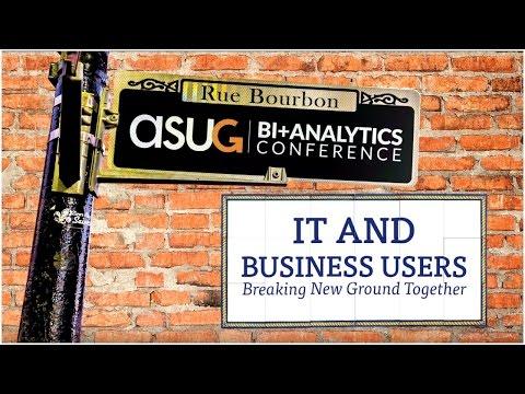 ASUG BI + Analytics Conference Highlights
