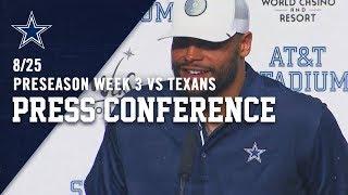 Dak Prescott: I Want Every Rep | Dallas Cowboys 2019