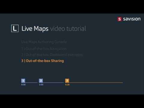 Live Maps: Authoring Console