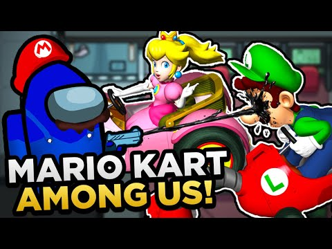 Among Us But It s In Mario Kart DS...