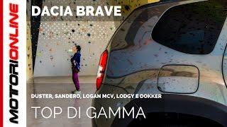Dacia Brave, il nuovo top di gamma