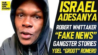 """Israel Adesanya Fires Back at Robert Whittaker: """"I Will Bury Him If I Have To"""""""