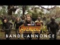 Icône pour lancer la bande-annonce n°1 de 'Avengers: Infinity War'