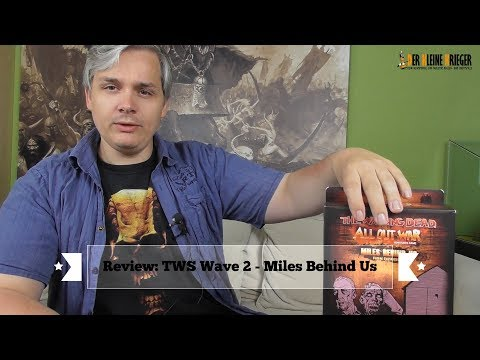 The Walking Dead:  Wave 2 - Miles Behind Us Review und Unboxing