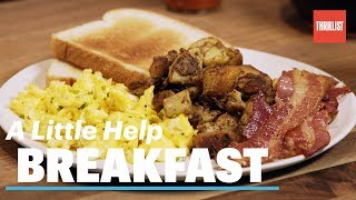 How To Cook Breakfast The Right Way || A Little Help
