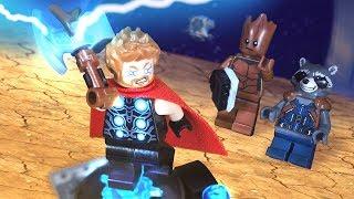 avengers infinity war thor s new hammer scene lego stop motion