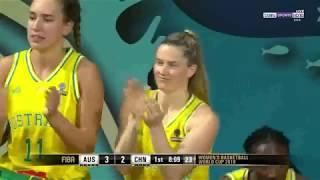 australia vs china  1st Q  women's basketball world cup