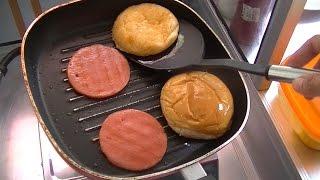 Jakarta Street Food 544 Double Cheese Burger Meat&Bun BR TV 4055