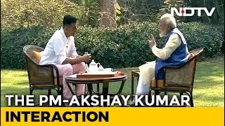 Bollywood actor Akshay interviews PM Modi..