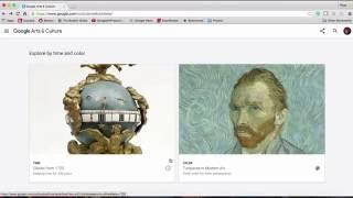 Google Arts and Culture Tutorial