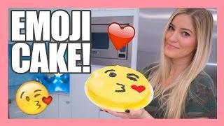 How to make a Valentine's Emoji Kiss Cake!   iJustine