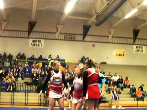 Horlick Cheerleading Quad routine.