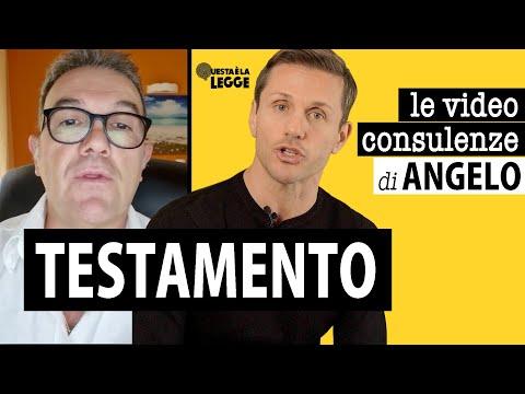 TESTAMENTO DEI GENITORI | avv. Angelo Greco