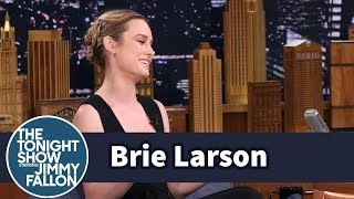 Brie Larson's Career Kicked Off with a Sketch for Jay Leno's Tonight Show