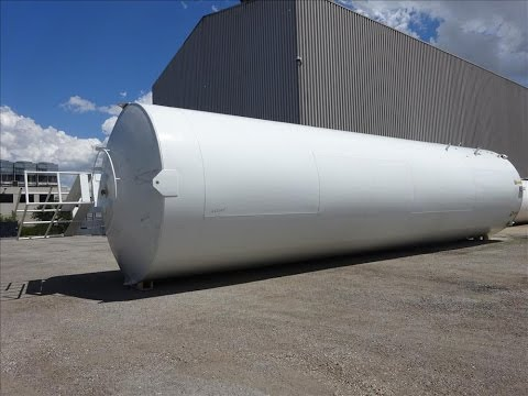 Used- Walker Stainless Cold Wall Storage Silo - stock # 48211001