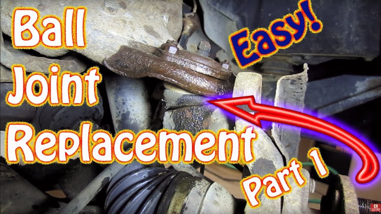 DIY Upper and Lower Ball Joint Replacement Part 1 - Chevy ...
