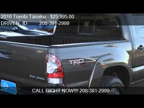 Tire Places Open On Sunday >> Video Demo Review 2010 Toyota Tacoma Truck Bed