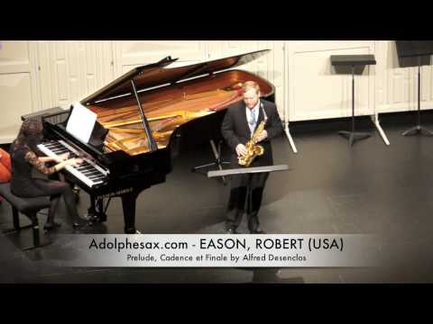 Eason Robert Prelude, Cadence et Finale by Alfred Desenclos
