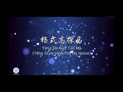 Yáng Shì Gāo Tàn Mǎ (Yang Style High Pat on Horse)