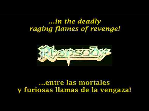 Rhapsody - Flames of Revenge (Lyrics & Sub. Esp)