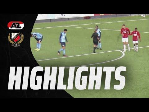 HIGHLIGHTS | Jong FC Utrecht verliest beloftenduel met Jong AZ