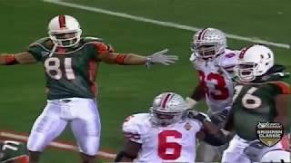 2002 BCS National Championship (Fiesta Bowl) - #2 Ohio State vs. #1 Miami (HD)