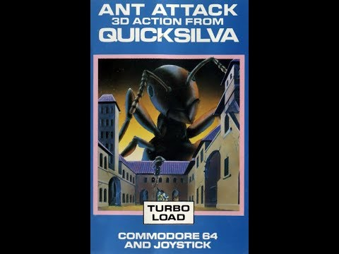 BITeLog 009D: Ant Attack (COMMODORE 64) LONGPLAY