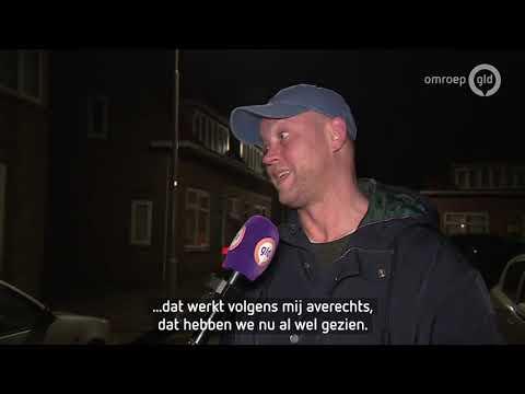 Grote politiemacht houdt volkswijk onder controle