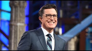 STEPHEN COLBERT RE-INTERVIEWS DONALD TRUMP FOR 60 MINUTES