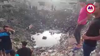 بالفيديو .. هذا ما خلفه إنفجار مدينة الصدر شرقي بغداد     -