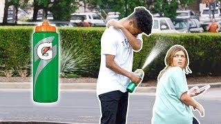 Sneezing on People