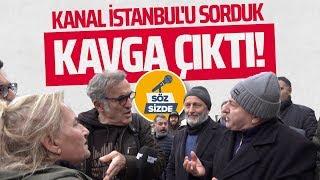 'KANAL İSTANBUL'U SORDUK, KAVGA ÇIKTI! (Sokak Röportajı-İnternethaber)
