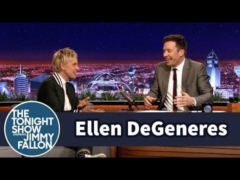 Ellen DeGeneres Gave Jimmy a Big Scare