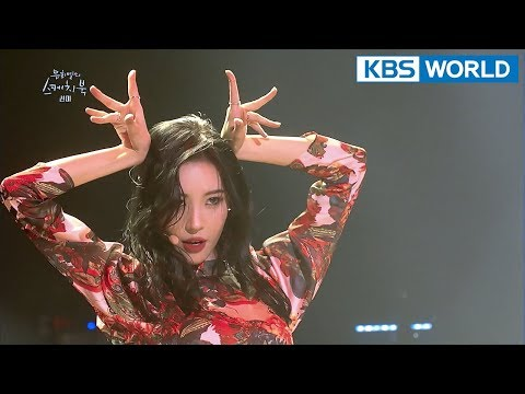 SUNMI - 24 Hours + Full Moon + Gashina [Yu Huiyeol's Sketchbook/2018.02.21]