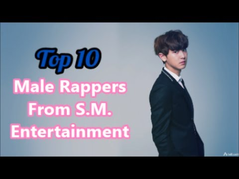 Top 10 Male Kpop Rappers from SM Entertainment