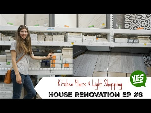 Kitchen Floor Shopping | Reno Home Update #6 | Momma From Scratch