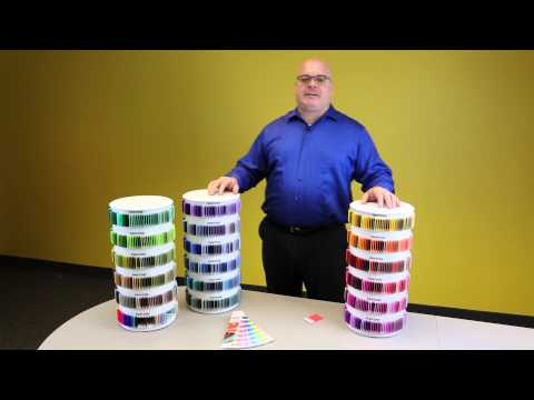 PANTONE PLUS Plastic Standard Chips Collection Overview
