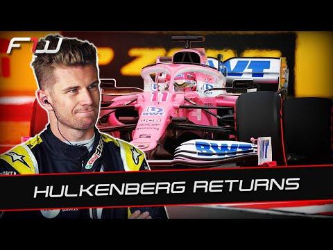 F1 News: Nico Hulkenberg Replaces Sergio Perez