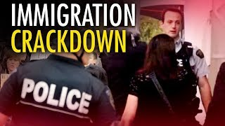 Trump's immigration crackdown means more Illegals for Canada