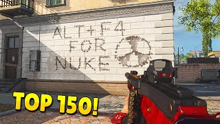 TOP 150 FUNNIEST FAILS & WINS IN WARZONE
