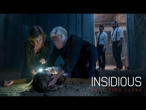 INSIDIOUS: LA ÚLTIMA LLAVE. Conoce el terror. Ya en cines.