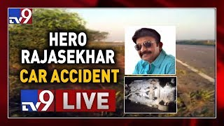 Hero Rajasekhar Car Met With Accident- Outer Ring Road- Li..