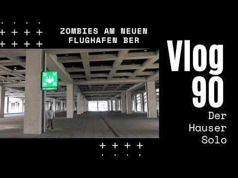 Zombies am neuen Flughafen Berlin Brandenburg - Daily Vlog 90