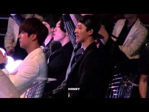 20141203 Bobby Bi reaction to GD TAEYANG fancam