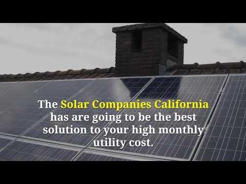 Solar Companies California