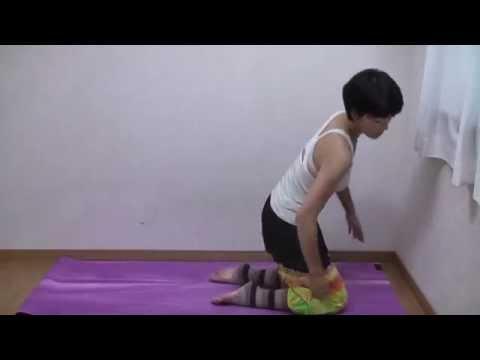反り腰改善骨盤調整ヨガポーズ 仰向けの英雄座 やり方 スプタヴィーラーサナ yoga asana  脚痩せ