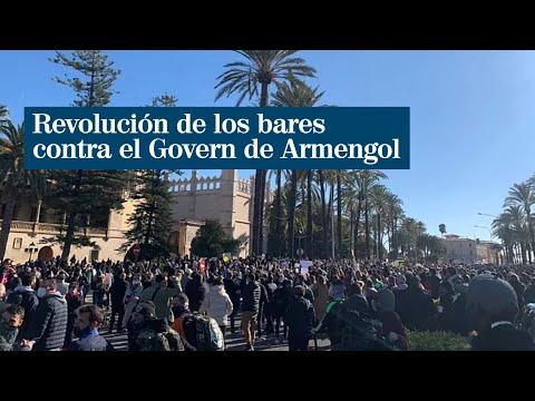 Revolución de los bares contra el Govern de Armengol