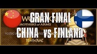AoE2 World Cup 2v2 Finland vs China GRAN FINAL