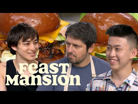 Feast Mansion S1: E#11 - Joji and Rich Brian Make International Burgers with Chef Ludo | Feast Mansion