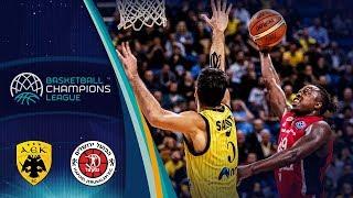 AEK v Hapoel Jerusalem - Full Game - Basketball Champions League 2018-19